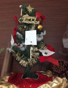クリスマスにむけて〜我が家の子どもたち〜(吉鹿)