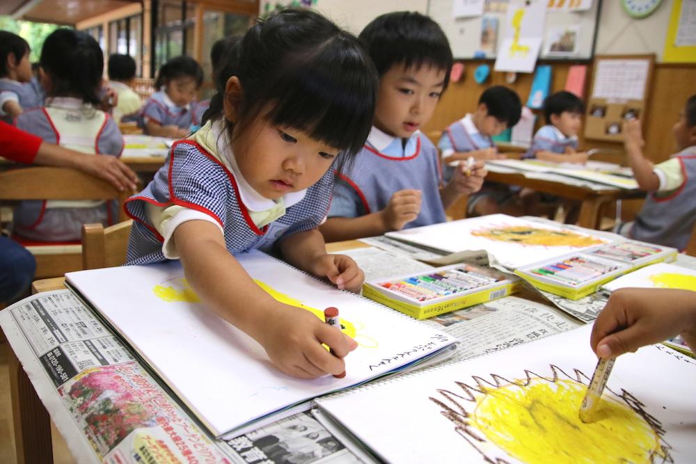小さなお客様♪&幼稚園は66歳!?&明日の稲刈りのお知らせ(野田)
