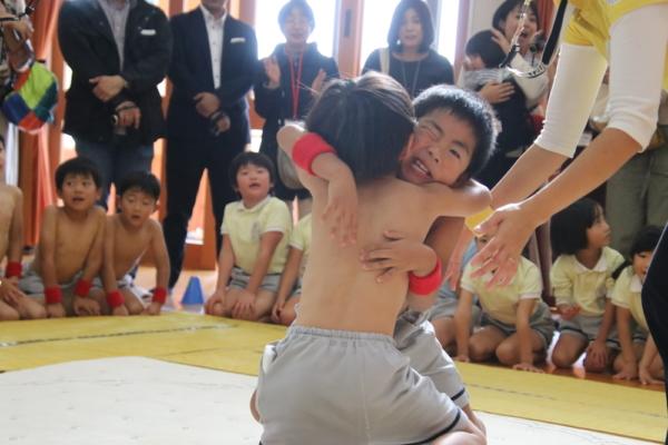 第二回年長レスリング大会&くすっ子米&年少園外保育(城間・田中)