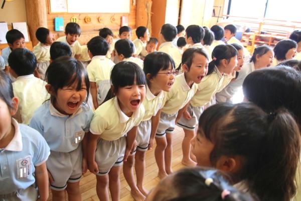 年長組!森の木幼稚園へGO~!!(田嶋)