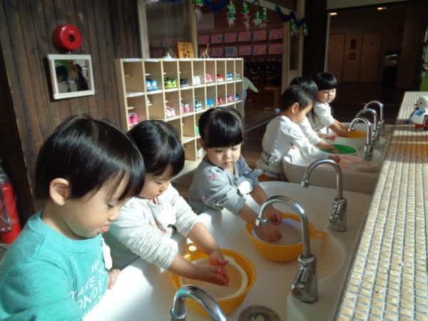 もち米洗い&ヤクルト見学(竹下・植島)