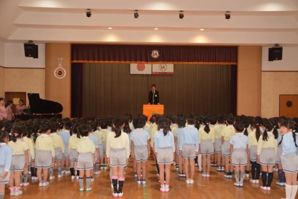 二学期終業式&年長特集(鷹取、髙村)