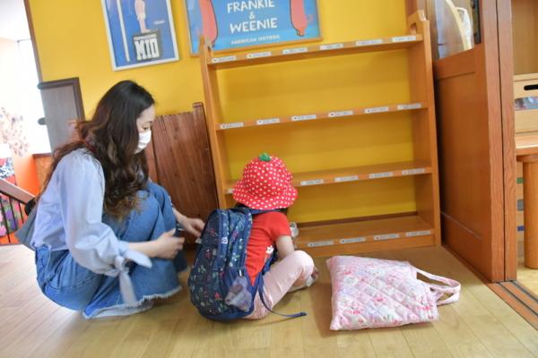 年中・二歳児のお友達待っていました♪(太田)