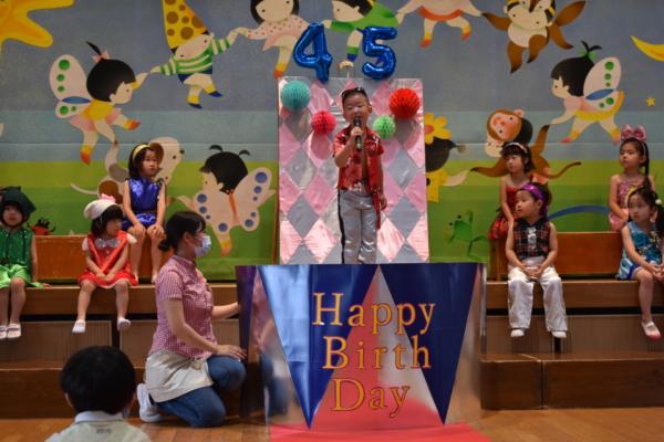 4月・5月誕生会(西)