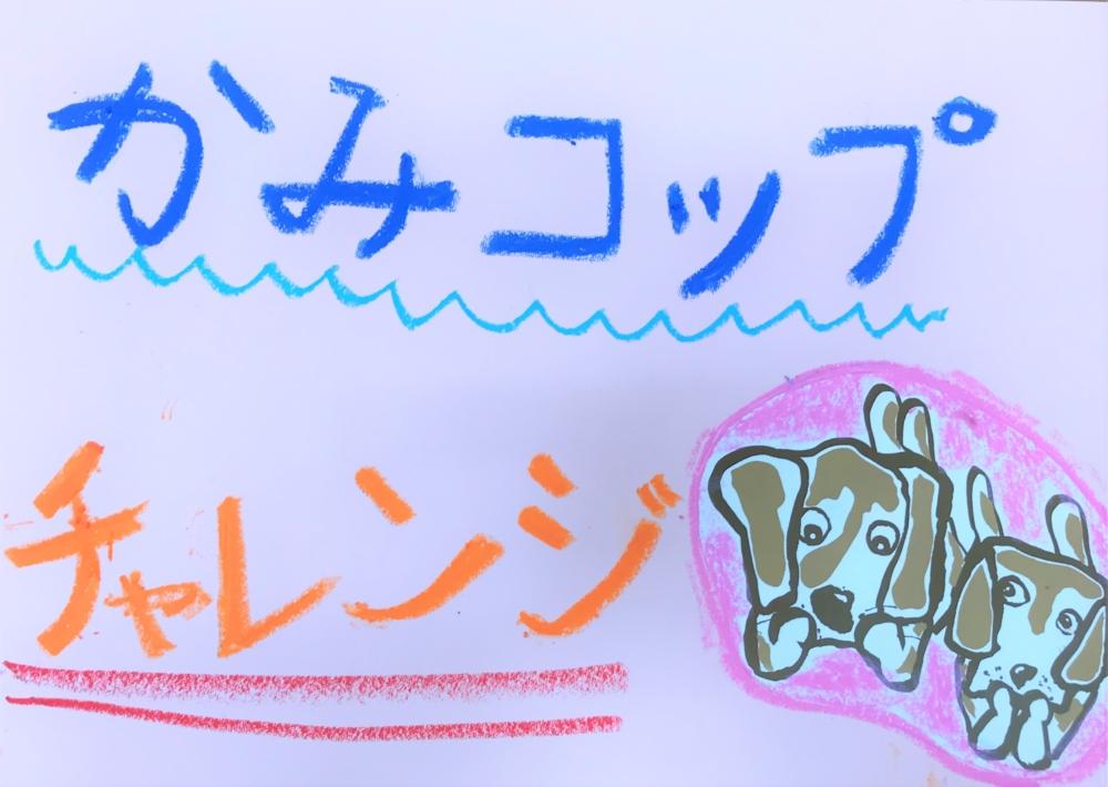 紙コップチャレンジ!!(小嶺)