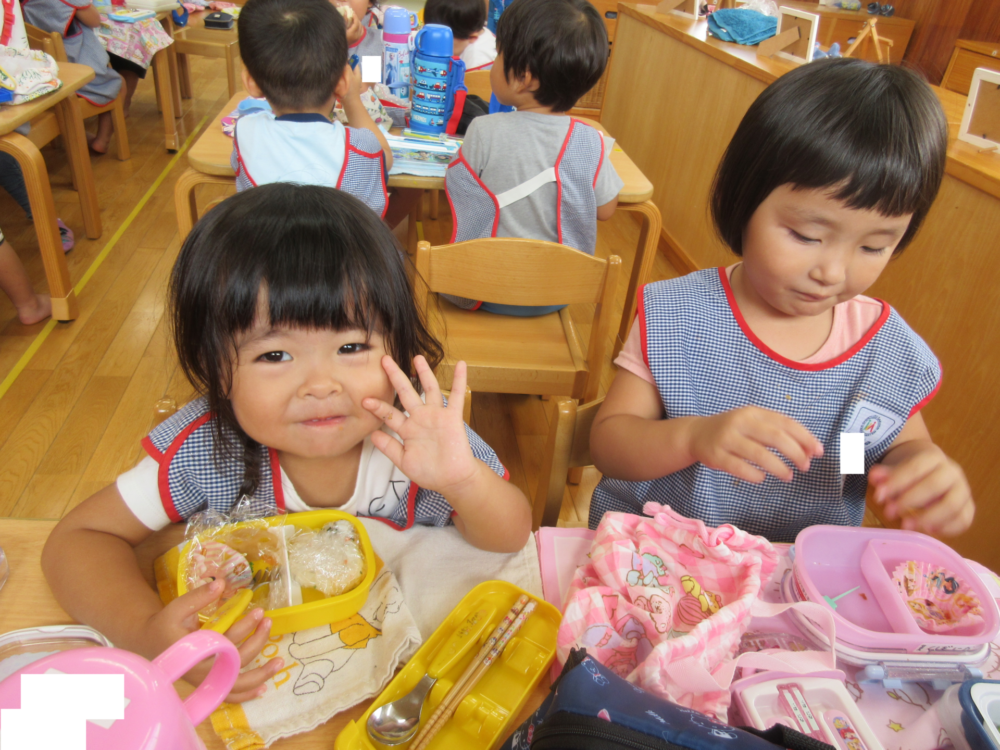 二歳児・年中の様子(木戸・中川)