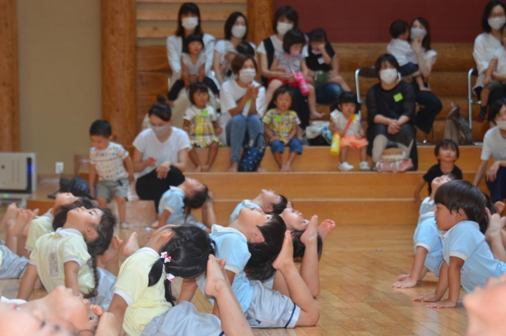 幼稚園見学会♪(佐藤)