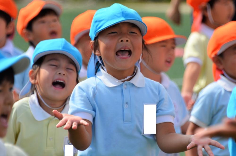 年中・二歳の運動会の見所&今月の様子(熊谷・木戸)