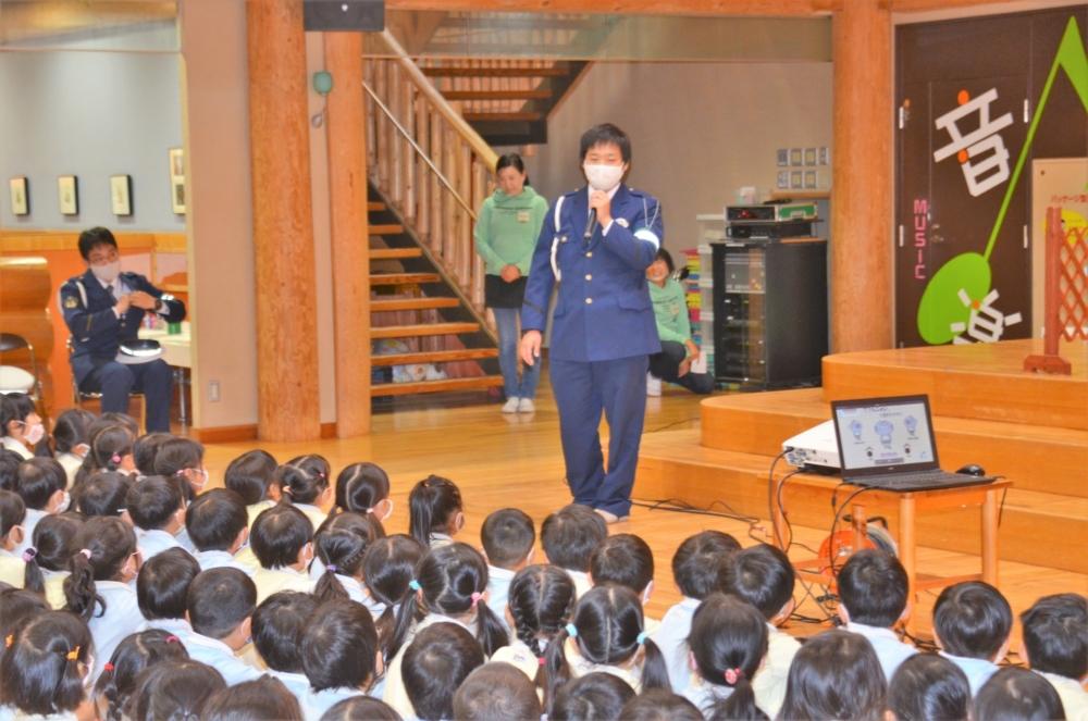 交通安全教室(中川)