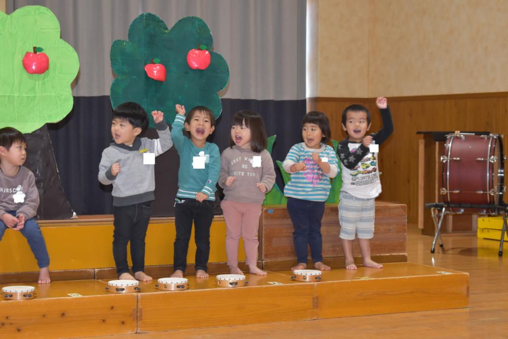 二歳発表会見所☆(矢野)