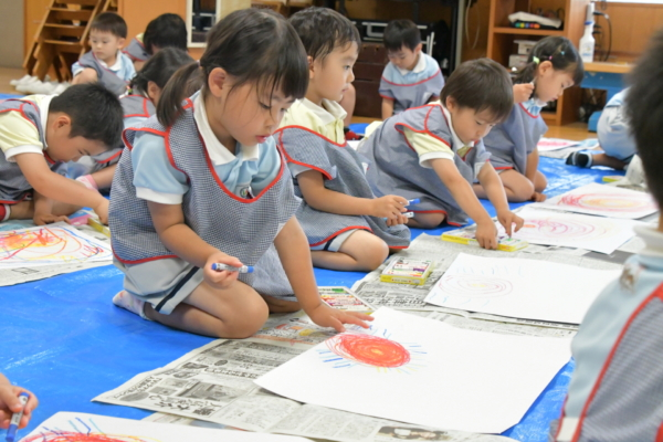 初めての絵画教室(宮崎)