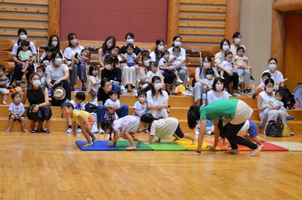 幼稚園見学会&キッズ体操(森川)運動会に向けて!(黒木)