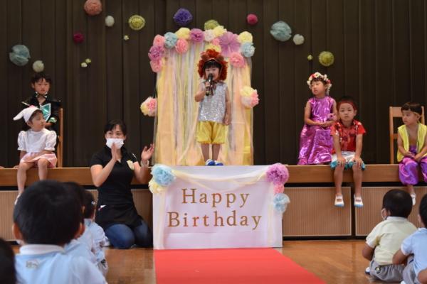 9月誕生会(西)