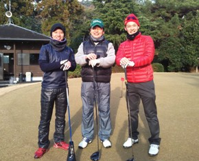 クリスマスとゴルフと芋掘り
