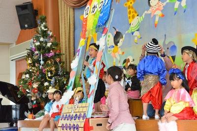 クリスマス誕生会&絵画教室(原)