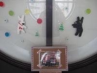 幼稚園もクリスマスモード!(藤川)